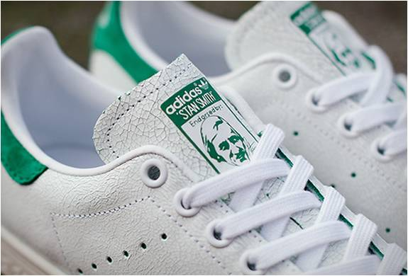 TÊNIS ADIDAS STAN SMITH CRACKED LEATHER - Imagem - 5