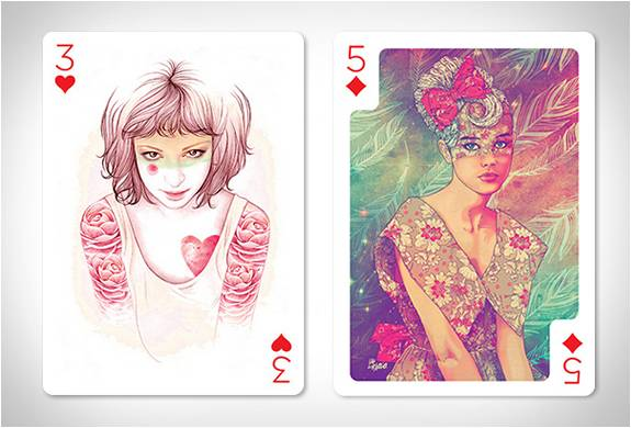 CARTAS DE POKER - PLAYING ARTS - Imagem - 4