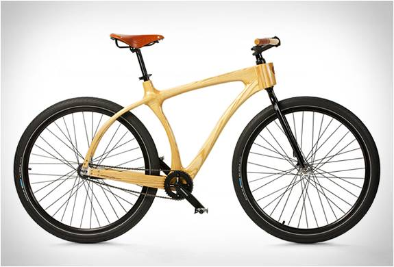 BICICLETA DE MADEIRA - CONNOR WOOD BICYCLES - Imagem - 4