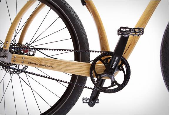 BICICLETA DE MADEIRA - CONNOR WOOD BICYCLES - Imagem - 5