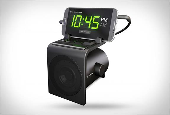 DESPERTADOR DREAMER ALARM CLOCK & SPEAKER DOCK - Imagem - 2