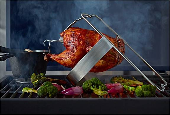 ESPETO PARA ASSAR O GALETO MAIS SUCULENTO DO MUNDO - THE ULTIMATE CHICKEN ROASTER - Imagem - 4