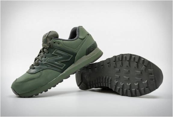 new balance 574 green and blue