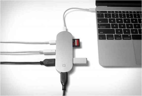 COMO RESOLVER O PROBLEMA DA ÚNICA PORTA USB DO NOVO MACBOOK - HUB+ - Imagem - 3
