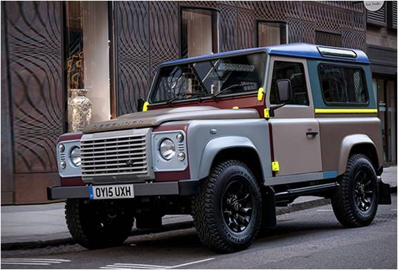 PAUL SMITH X LAND ROVER DEFENDER - Imagem - 2