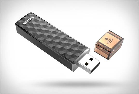 PEN DRIVE SEM FIOS - SANDISK CONNECT WIRELESS STICK - Imagem - 2
