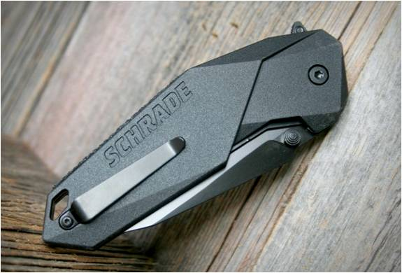 FACA DOBRÁVEL - SCHRADE MAGIC ASSISTED OPENING KNIFE - Imagem - 3