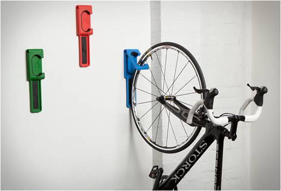 Armazenamento Vertical De Bicicleta Suporte De Parede Endo