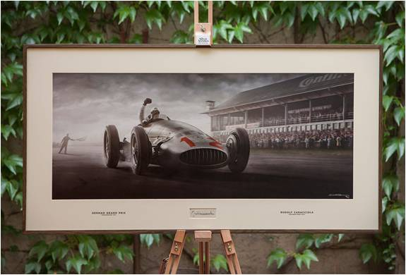 ESTAMPAS DE CARROS ANTIGOS - THE SILVER ARROWS PROJECT - Imagem - 2