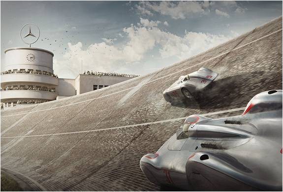 ESTAMPAS DE CARROS ANTIGOS - THE SILVER ARROWS PROJECT - Imagem - 3