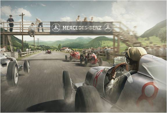 ESTAMPAS DE CARROS ANTIGOS - THE SILVER ARROWS PROJECT - Imagem - 5